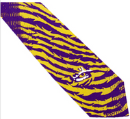 LSU Tiger Stripe Tie