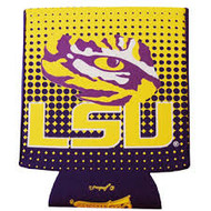 LSU Polka Dot Gameday Can Coozie