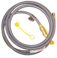 12' Natural Gas Hose W/ Coupler