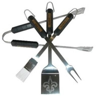 Saints 4pc BBQ Set
