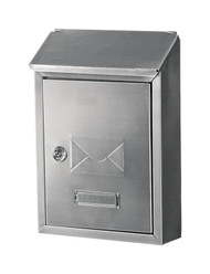 Mailbox Hudson Wall Mounted Stainless Steel