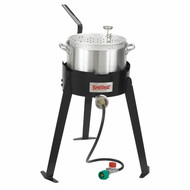 Bayou Classic Outdoor Fish Fryer / Cooker 10qt. Aluminum
