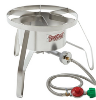 Bayou Classic SS10 Stainless Steel High Pressure Cooker