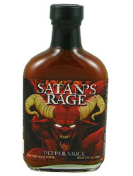 Satan's Rage Pepper Sauce
