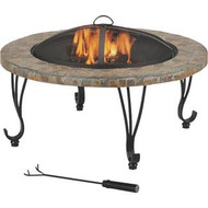 "Outdoor Fire Pit 34"" Slate top"