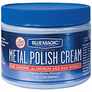 Blue Magic Metal Polish Cream Wax Automobile Polish 7 oz. For Chrome And Aluminum