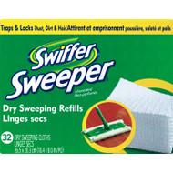 Swiffer Sweeper Mop Refill Microfiber 32 pk