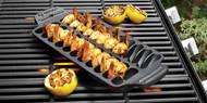 Cast Iron Grilling Shrimp Pan