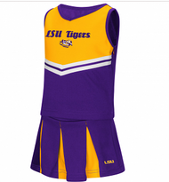 LSU Girls Toddler Cheer Outfit