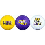 LSU Golf Balls - 3 Pack