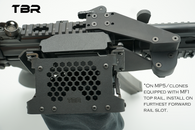 MP5 top mount for MFI rails