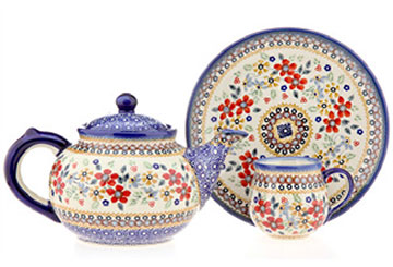 Polish  - linked to pottery patterns