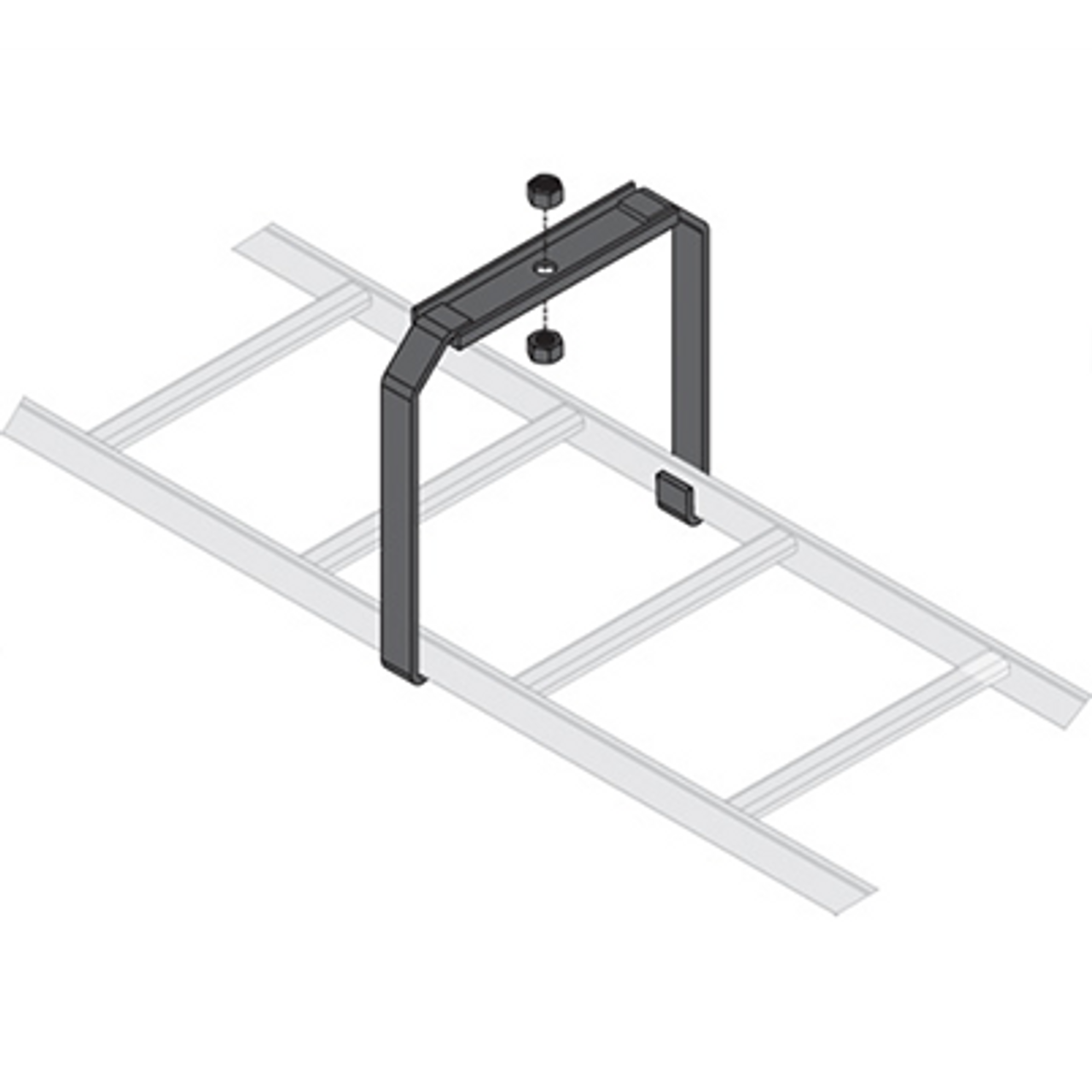 Ladder Rack Brackets Ceiling Mount Kit Rackmount Solutions