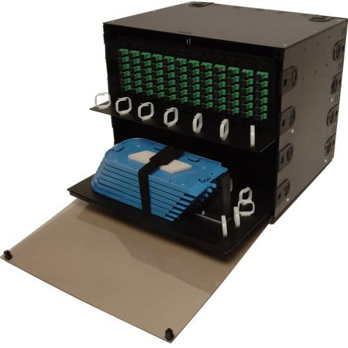 10-8584   FRM-8RU-12X-PS   Rack Mount Fiber Box