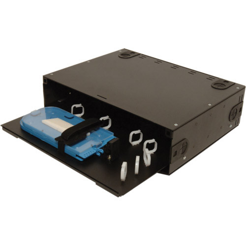 045-782-10 | FRM-3RU-SS | Rack Mount Fiber Box