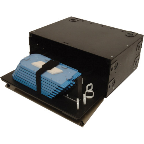 045-785-10 | FRM-4RU-SS | Rack Mount Fiber Box