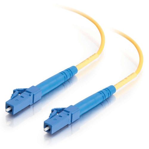 C2G-34704 | 9m LC-LC 9/125 OS2 Simplex Single-Mode PVC Fiber Optic Cable - Yellow