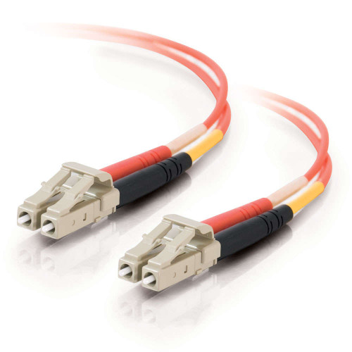 C2G-33172   1m LC-LC 62.5/125 OM1 Duplex Multimode PVC Fiber Optic Cable - Orange