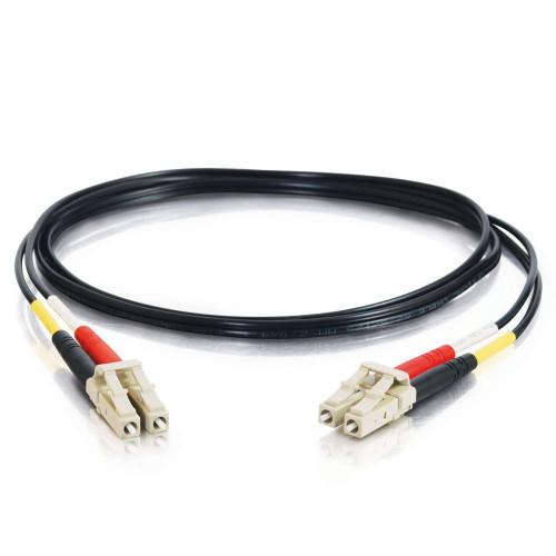 C2G-37244 | 5m LC-LC 62.5/125 OM1 Duplex Multimode PVC Fiber Optic Cable - Black