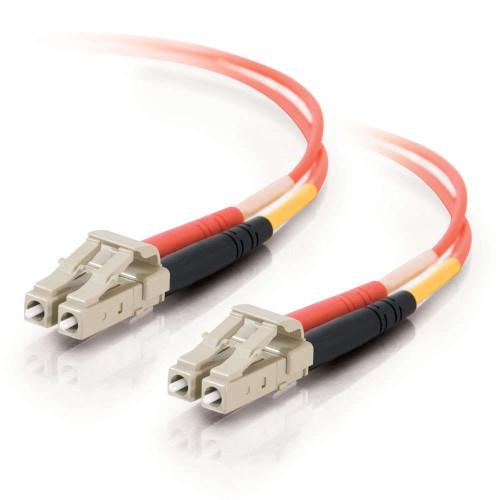 C2G-36333 | 3m LC-LC 50/125 OM2 Duplex Multimode Fiber Optic Cable - Low Smoke Zero Halogen LSZH - Orange