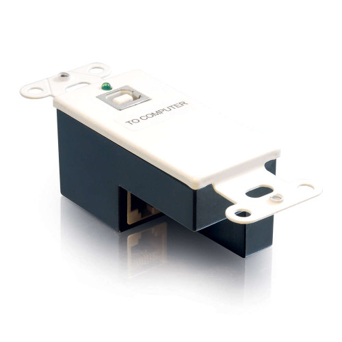 C2G-29344 | USB 1.1 Over Cat5 Superbooster Extender Wall Plate Transmitter