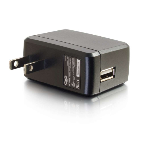 C2G-22335 | AC to USB Mobile Device Charger, 5V 2A Output