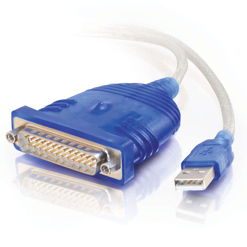 C2G-22429 | 6ft USB to DB25 Serial RS232 Adapter Cable