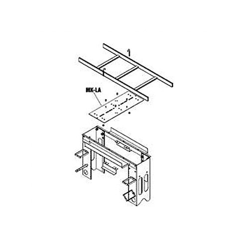 Middle Atlantic MK-LA | Wall & Ceiling Mount Kits