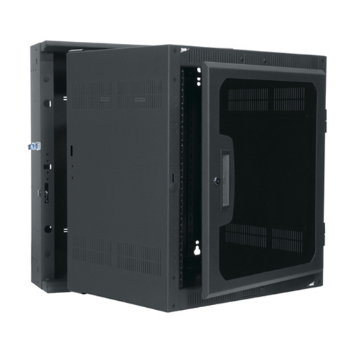 Fixed Wall Mount Enclosures · Swinging Rack Enclosures - Wall Mount Racks Wall Mount Cabinets Rackmount Solutions