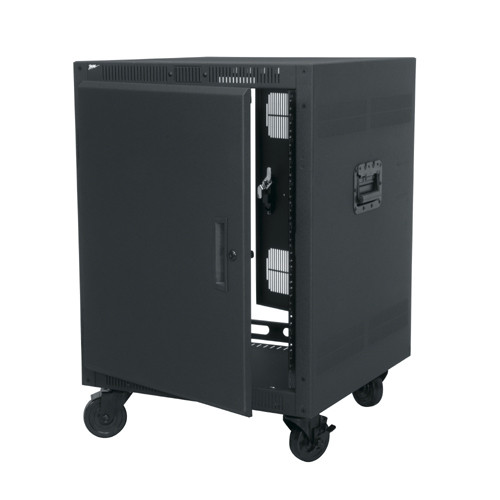 Portable Rack Enclosure | Rolling Rackmount Cabinet
