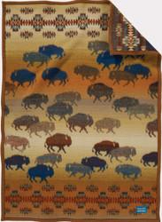 Prairie Rush Hour Crib Blanket