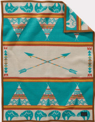 Pendleton Star Guardian Muchacho Crib Blanket