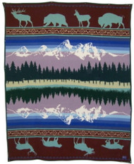 Pendleton Grand Teton 25th Anniversary Wool Blanket