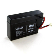 Amstron 12V/.8AH Sealed Lead Acid Battery w/ WL Terminal
