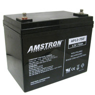 Amstron 12V / 75Ah Deep Cycle Sealed Lead Acid Battery - R Terminal