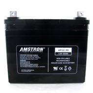 Amstron 12V 35Ah Sealed Lead Acid Battery w/ NB Terminal