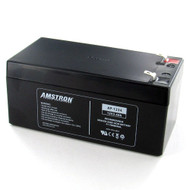 Amstron 12V/3.2AH Sealed Lead Acid Battery w/ F1 Terminal