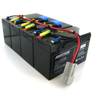 Amstron Replacement Backup Battery for APC RBC25