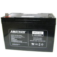 Amstron 12V 100Ah Sealed Lead Acid Battery (BCI Group 27)