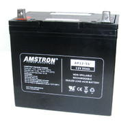 Amstron 12V / 55Ah Battery - NB Terminal (BCI Group 22NF)