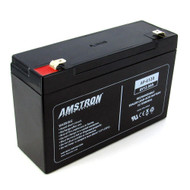 Amstron 6V/12AH Sealed Lead Acid Battery w/ F2 Terminal