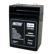 Amstron 6V/4AH Sealed Lead Acid Battery w/ F1 Terminal