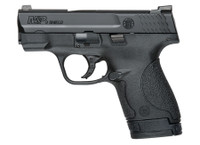 S&W Model M&P Shield with Tritium Night Sights 9mm 3.1 Inch Barrel Black Finish 7 and two 8 Round Magazines	 Model M&P Shield - Tritium Night Sights