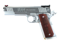 AMC MAC 1911 Classic .45 ACP 5 Inch Barrel Chrome Finish Adjustable Rear Sight Hardwood Grips 8 Round	 MAC 1911 Classic