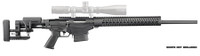 RUG Ruger Precision Bolt Action Rifle 6.5 Creedmoor 24 Inch Threaded Barrel 5R Rifling Samson Keymod Handguard Precision MSR Folding Adjustable Stock 10 Round
