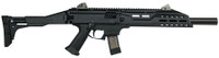 CZU CZ Scorpion EVO 3 S1 Carbine 9mm Luger 16.2 Inch Threaded Barrel 1/2x28 TPI Faux Suppressor Black 20 Round