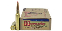 200 ROUNDS  Hornady Rifle Ammo A-Max 6.5 Creedmoor AMAX 140 Grain [81494] FREE SHIPPING