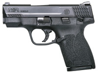 S&W Model M&P Shield Thumb Saftey 45 Auto 3.3 Inch Barrel Matte Black Stainless Steel Slide Black Polymer Frame 7 Round