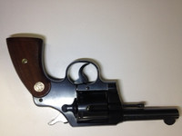 USED COLT OFFICIAL POLICE 38 SPL  MADE IN 1941 NEW CONDITION