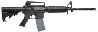 S&W M&P 15 Tactical Rifle 5.56mm NATO 16 Inch Barrel 6-Position Telescopic Stock Adjustable Dual Aperature Rear Sight 30 Round
